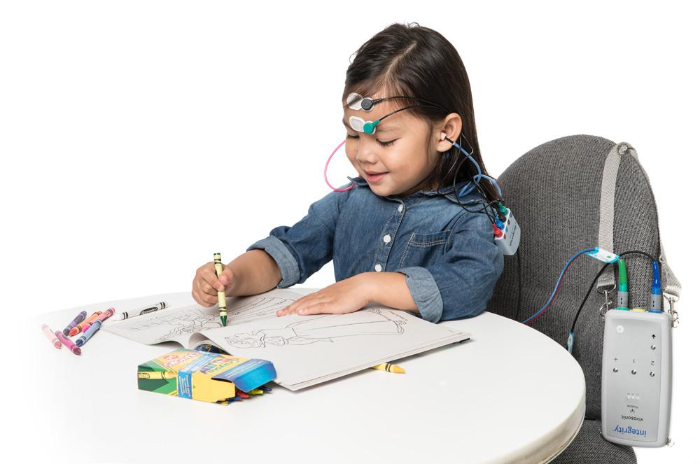 Brainstem hearing testing